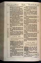 Isaiah Chapter 25, Original 1611 KJV