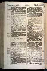 Isaiah Chapter 5, Original 1611 KJV
