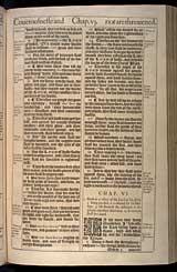 Isaiah Chapter 6, Original 1611 KJV