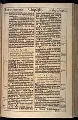 Isaiah Chapter 53, Original 1611 KJV
