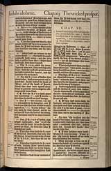 Jeremiah Chapter 12, Original 1611 KJV