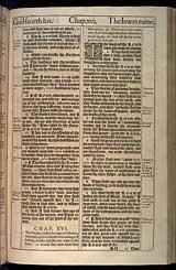 Jeremiah Chapter 16, Original 1611 KJV
