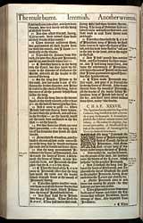 Jeremiah Chapter 37, Original 1611 KJV