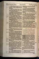 Jeremiah Chapter 6, Original 1611 KJV