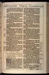 Jeremiah Chapter 8, Original 1611 KJV