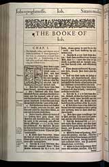 Job Chapter 1, Original 1611 KJV