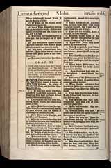 John Chapter 11, Original 1611 KJV