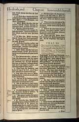 John Chapter 20, Original 1611 KJV