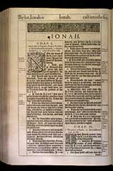 Jonah Chapter 1, Original 1611 KJV