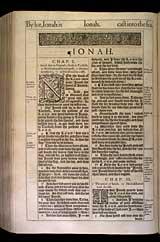 Jonah Chapter 2, Original 1611 KJV