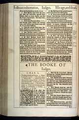 Judges Chapter 1, Original 1611 KJV