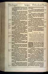 Judges Chapter 6, Original 1611 KJV
