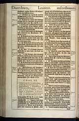 Leviticus Chapter 20, Original 1611 KJV