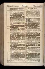 Luke Chapter 13, Original 1611 KJV