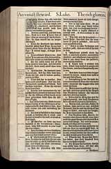 Luke Chapter 16, Original 1611 KJV