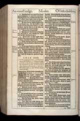 Luke Chapter 18, Original 1611 KJV