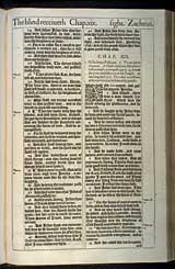 Luke Chapter 19, Original 1611 KJV