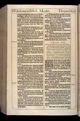 Luke Chapter 8, Original 1611 KJV