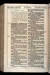 Mark Chapter 15, Original 1611 KJV