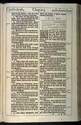 Mark Chapter 16, Original 1611 KJV
