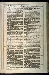 Mark Chapter 16, Original 1611 KJV