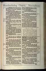 Mark Chapter 7, Original 1611 KJV