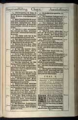 Mark Chapter 10, Original 1611 KJV