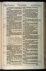 Matthew Chapter 24, Original 1611 KJV