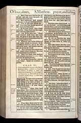 Matthew Chapter 6, Original 1611 KJV