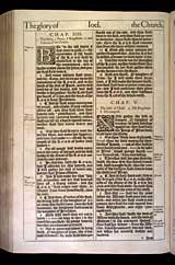 Micah Chapter 5, Original 1611 KJV