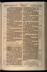 Micah Chapter 6, Original 1611 KJV