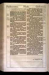 Micah Chapter 7, Original 1611 KJV