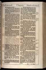 Nehemiah Chapter 13, Original 1611 KJV