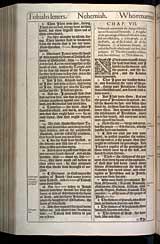 Nehemiah Chapter 7, Original 1611 KJV