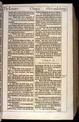 Numbers Chapter 2, Original 1611 KJV