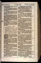 Numbers Chapter 14, Original 1611 KJV