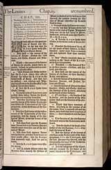 Numbers Chapter 3, Original 1611 KJV