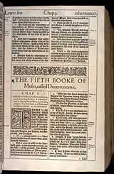Deuteronomy Chapter 1, Original 1611 KJV