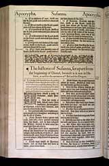 Susanna Chapter 1, Original 1611 KJV
