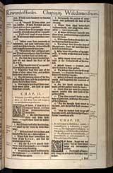 Proverbs Chapter 3, Original 1611 KJV