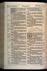 Proverbs Chapter 27, Original 1611 KJV