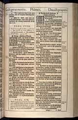 Psalms Chapter 109, Original 1611 KJV