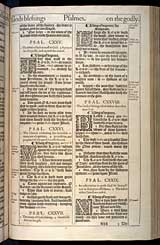 Psalms Chapter 129, Original 1611 KJV