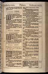 Psalms Chapter 133, Original 1611 KJV