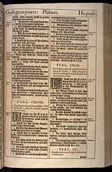 Psalms Chapter 149, Original 1611 KJV