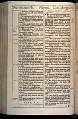 Psalms Chapter 45, Original 1611 KJV