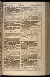 Psalms Chapter 8, Original 1611 KJV