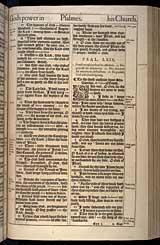 Psalms Chapter 69, Original 1611 KJV