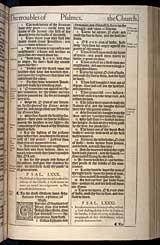Psalms Chapter 80, Original 1611 KJV