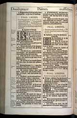 Psalms Chapter 87, Original 1611 KJV